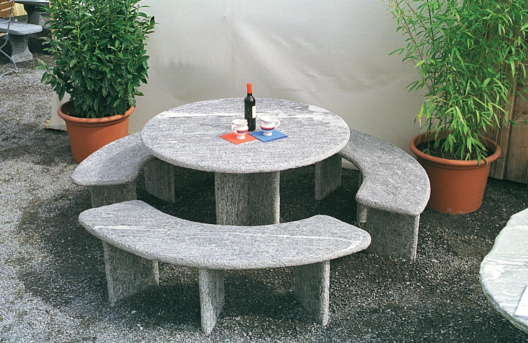 granittisch rustico. Black Bedroom Furniture Sets. Home Design Ideas
